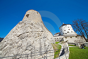 Fortress Of Kufstein Stock Photos - Image: 13847633