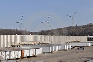 Wind Turbines Royalty Free Stock Image - Image: 13848336