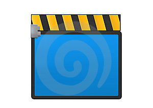 Film Clapper Royalty Free Stock Photos - Image: 13848688