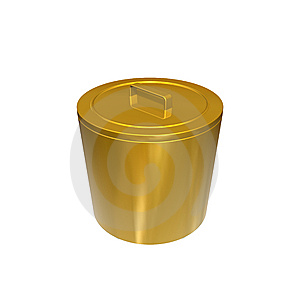 Garbage Can Royalty Free Stock Photo - Image: 13848805
