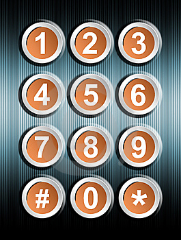 Numbers Royalty Free Stock Image - Image: 13848836