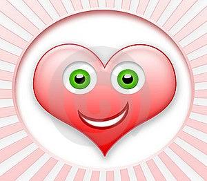 Smiling Heart Stock Image - Image: 13849361