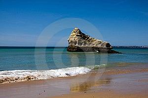 Praia Da Rocha Beach,portugal-algarve Royalty Free Stock Photo - Image: 13849745