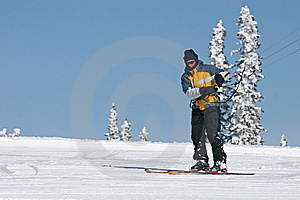 Kite Skier Royalty Free Stock Photos - Image: 13851278