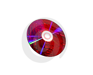 Component DVD/CD Stock Images - Image: 13851894