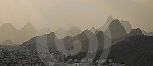Guilin Landscape Stock Image - Image: 13852631