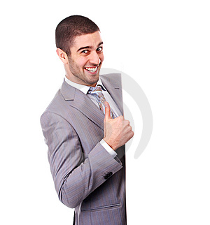 Man With Placard Stock Photos - Image: 13852983