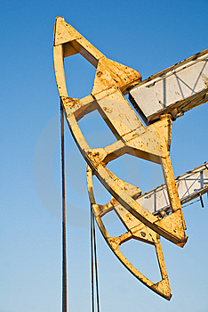 Oil Pump Royalty Free Stock Photography - Image: 13858877
