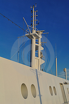 Antenna Ship Stock Image - Image: 13862521