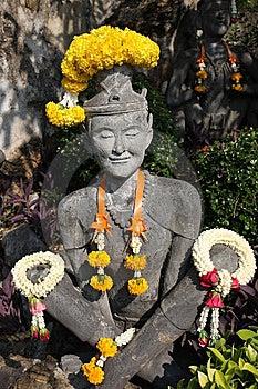 ็ำHermit Statue Royalty Free Stock Images - Image: 13862729