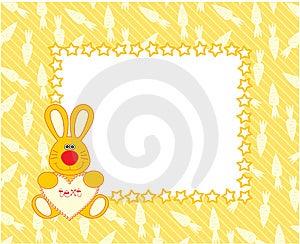 Hare Frame Stock Image - Image: 13862871