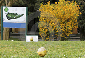 Golf Court Royalty Free Stock Photography - Image: 13863657