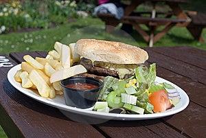 Cheeseburger Stock Image - Image: 13866521