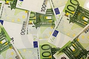 Euro Der Banknote 100 Lizenzfreies Stockbild - Bild: 13873506