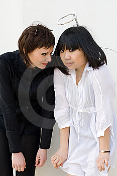 Angel And Devil Stock Image - Image: 13873871