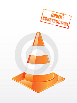 Traffic Cone Royalty Free Stock Photos - Image: 13874648