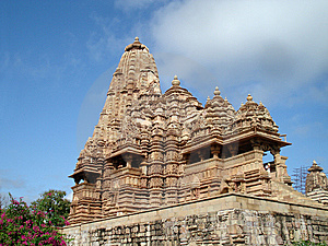 Temple At Khajuraho Royalty Free Stock Images - Image: 13878849