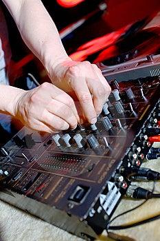 Dj Panel Music Stock Photo - Image: 13881620