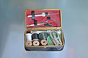 Tailoring Tools Royalty Free Stock Images - Image: 13881939