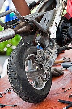 Minibike II Royalty Free Stock Photos - Image: 13882178