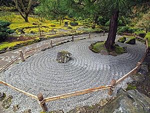 pedras cascalho jardim : Jardim De Pedra Japon?s Fotografia de Stock Royalty Free ...