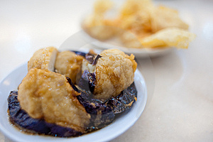 Deep Fried Dim Sum Royalty Free Stock Photography - Image: 13882287