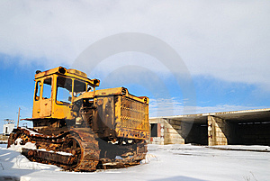Old Tractor Stock Images - Image: 13883744