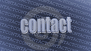 Contact Royalty Free Stock Photos - Image: 13885188