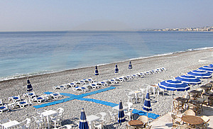Promenade Des Anglais - Beach Stock Photos - Image: 13885263