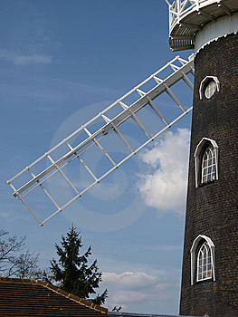 Surrey Windmill Stock Photo - Image: 13886050