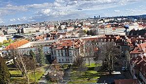 Prague Skyline. Old Europe Stock Image - Image: 13891191