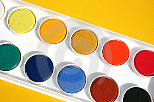 Water Colours Stock Image - Image: 13896011