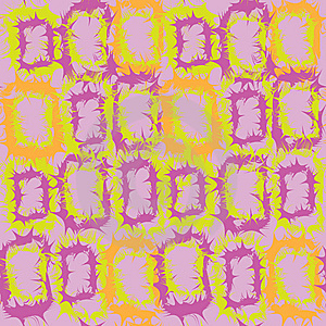Seamless Pattern With Abstract Rectangular Element Stock Photography - Image: 13896212