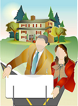 Real Estate Team Stock Photography - Image: 13896432