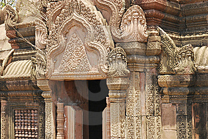Cambodian Castle Stock Images - Image: 13897264
