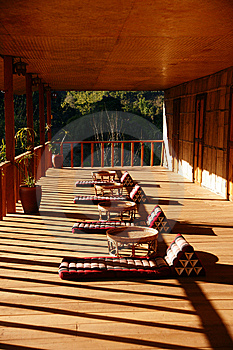Wooden Terrace Royalty Free Stock Photography - Image: 13897527