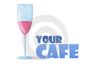 Logo Design For Cafes Royalty Free Stock Images - Image: 13899629