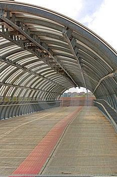 Pedestrian Tunnel Stock Image - Image: 13899761