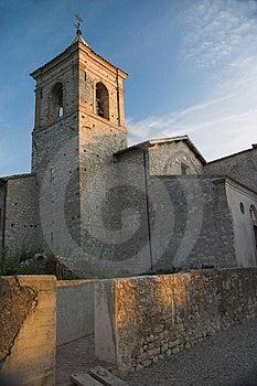 Abbazia Di Sassovivo In The Evening Light. Stock Photo - Image: 1392120
