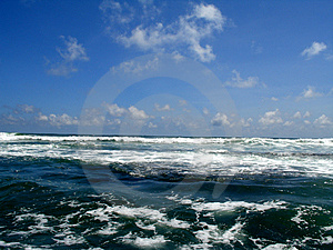 Indian ocean Royalty Free Stock Photos