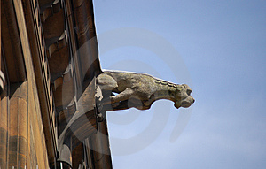 Gargoyle Royalty Free Stock Photography - Image: 1392707