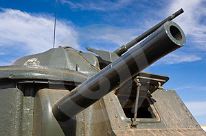 General Grant Army Tank Turret Stock Image - Image: 1394091