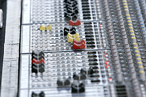 Sound mixer Free Stock Images