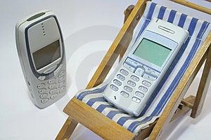 Telemóvel Da Aposentadoria Fotografia de Stock - Imagem: 1396252
