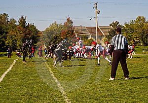 Football Game Stock Photo - Image: 1399110