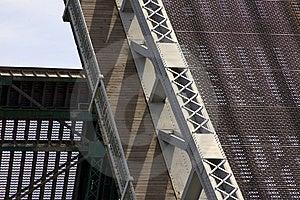 Raised Bridge Close Up. Stock Image - Image: 13900661