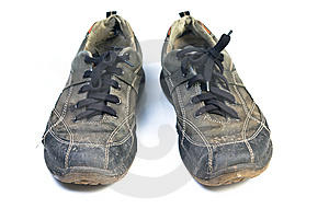 Old Sports Shoes. Royalty Free Stock Photography - Image: 13902537