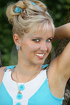 Nice Smile Young Woman Royalty Free Stock Photos - Image: 13903458