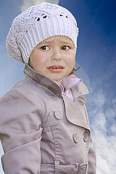 The Small Crybaby Royalty Free Stock Image - Image: 13903846