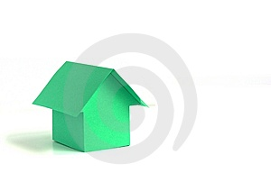 Paper House Royalty Free Stock Photography - Image: 13903907